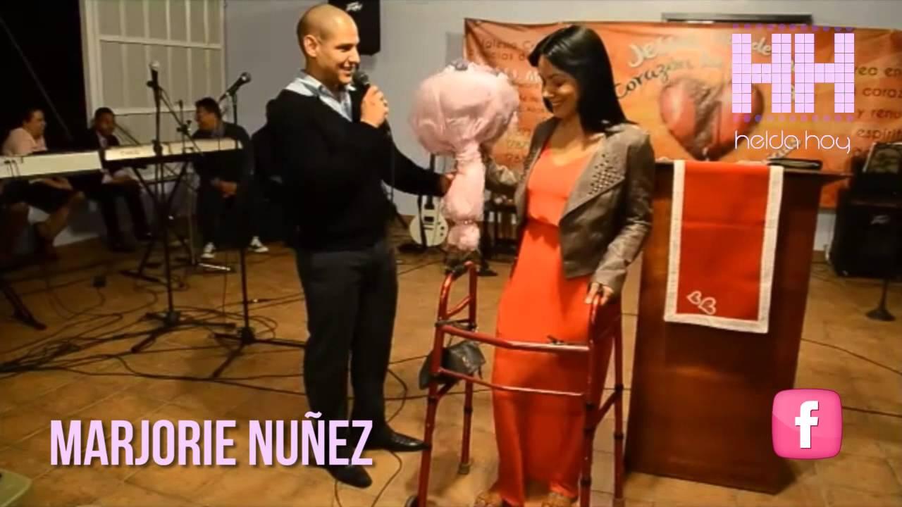 Propuesta de matrimonio a Marjorie Nuñez - Helda Hoy - YouTube