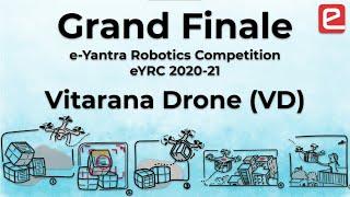 Grand Finale of eYRC 2020-21: Vitarana Drone (VD)