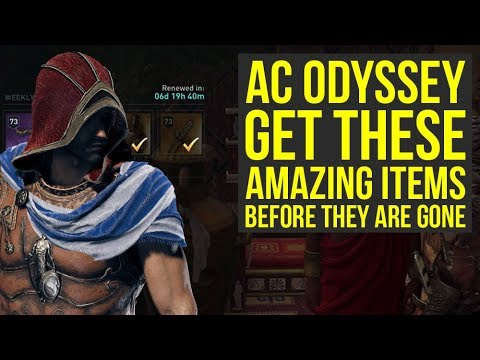 Assassin's Creed Odyssey AMAZING ITEMS You Want To Get Before They Are Gone (AC Odyssey) thumbnail