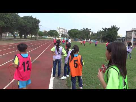 2016年12月1日鹿草國小校內運動競賽-跳繩接力