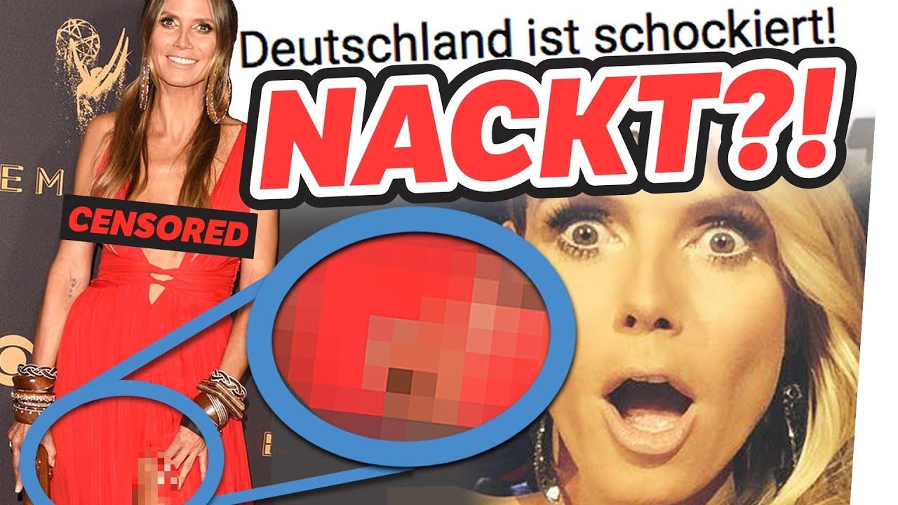 Klum nackt Heidi  62 Heidi