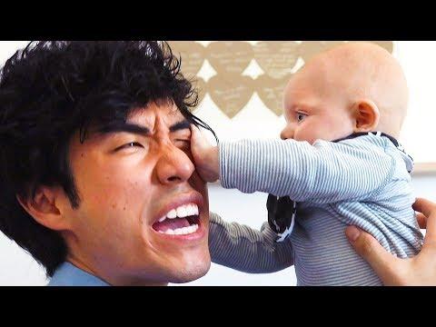 Eugene Babysits Ned's Baby