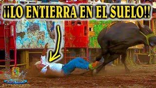 ¡¡LO ENTIERRA EN EL SUELO!! DICE LA GENTE ASUSTADA, FUE UN TORO DE RANCHO EL AGUAJE, SEÑALABAN.