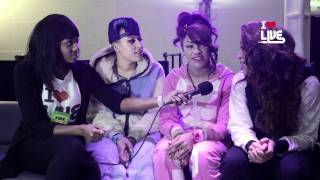 ILUVLIVE Stooshe Interview 7 NOV 2011 @ XOYO