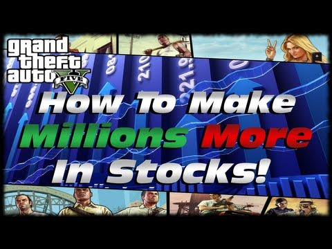 GTA 5 How to Use Tinkles Stock To Make Millions Of Dollars In The Stock Market! GTA V Tutorial!
