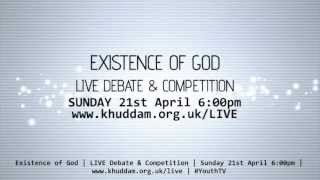Existence of God - LIVE Debate
