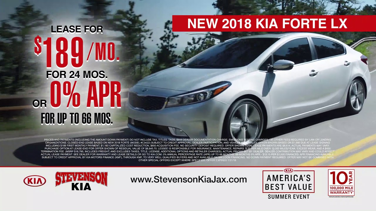 Drive A New Kia This Summer At Stevenson Of Jacksonville