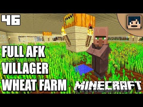 WHEAT FARM! Minecraft Survival Indonesia Eps. 46