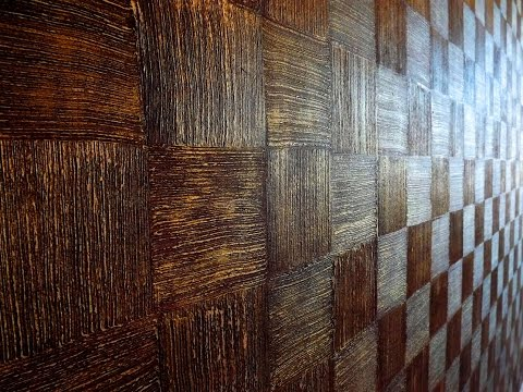 Декоративная штукатурка в геометрических формах. Decorative plaster in geometric forms