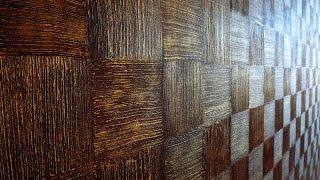 Декоративная штукатурка в геометрических формах. Decorative plaster in geometric forms(, 2016-07-20T22:24:42.000Z)