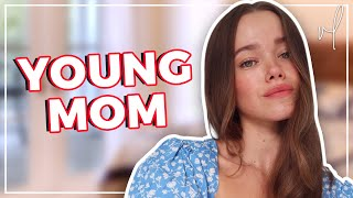 reacting-to-becoming-such-a-young-mom-regret-advice