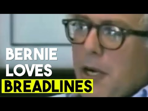 Mark Simone - Watch 'Breadline Bernie' Sanders Say Lining Up For Food Is Great