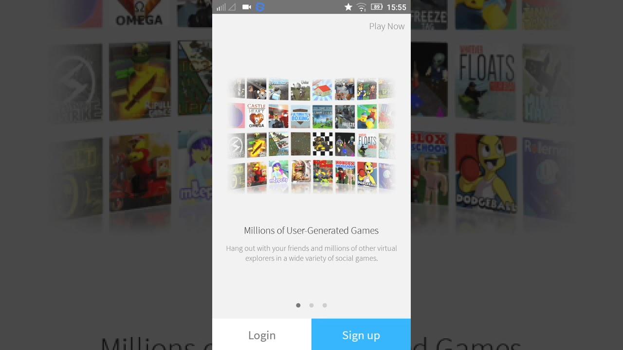 Cara Membuat Akun Di Roblox Android Youtube