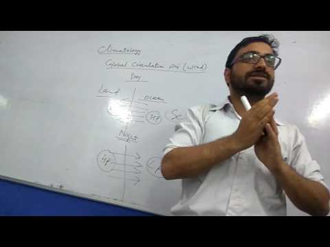 Rasikh Barkat, Lecture, Climatology, Global Circulation of Wind (Air), ITCZ, LEC 1