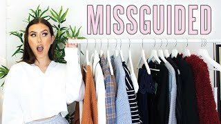 MISSGUIDED TRY ON HAUL - AUTUMN & WINTER STUDENT FASHION ad   Hannah Renée