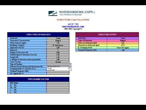 Wind Load Calculator | WindLoad Software Calculations | Wind