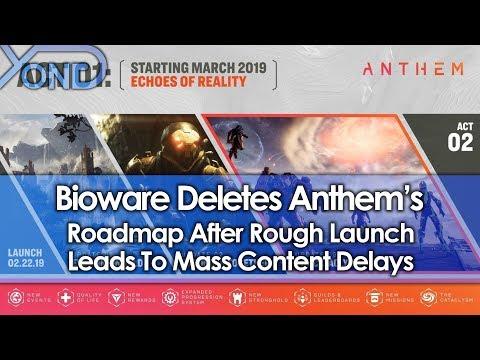 Bioware Deletes Anthem's