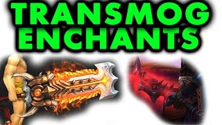 WoD | How to Transmog Weapon Enchants! (WoW 6.0.3)