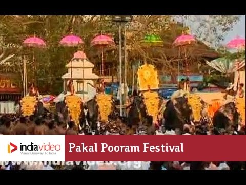 Thirunakkara Pakal Pooram festival - III