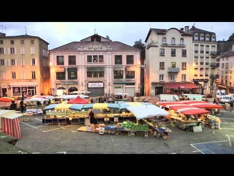 Marché d'Annonay en Ardèche