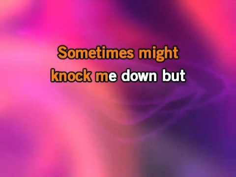 Miley Cyrus   The Climb KaraokeInstrumental with lyrics on screen