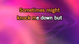 Miley Cyrus   The Climb KaraokeInstrumental with lyrics on screen