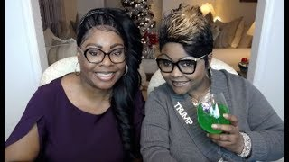 Diamond and Silk on Chit Chat Live giving their opinion about all of the BS