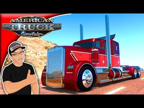 American Truck Simulator Mods The Kenworth Phantom Mod Review