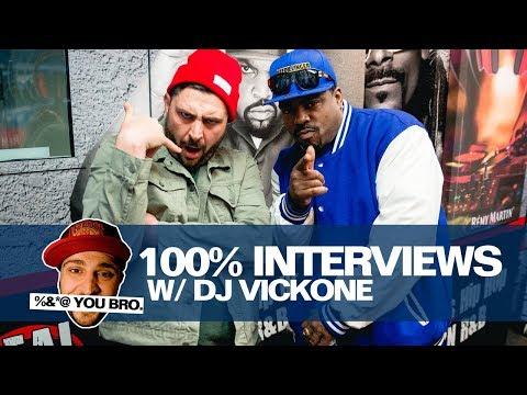 100% INTERVIEWS W/ DJ VICK ONE AND DAZ!!!!
