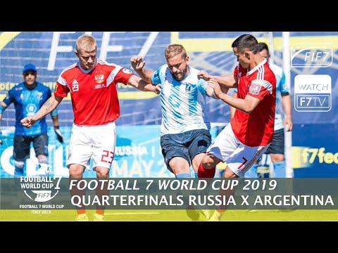 Russia Vs Argentina - Football 7 World Cup 2019 - Quarterfinals (Men)