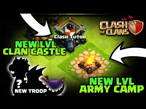 NEW TH12 TROOP LEAKED! LVL 10 ARMY CAMPS,LVL 8 CLAN CASTLE AND MANY MORE CLASH OF CLANS TH12 UPDATE!