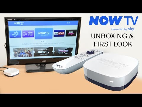NOW TV - Unboxing & Set up test #NOWTVBox - £10 Smart TV Box