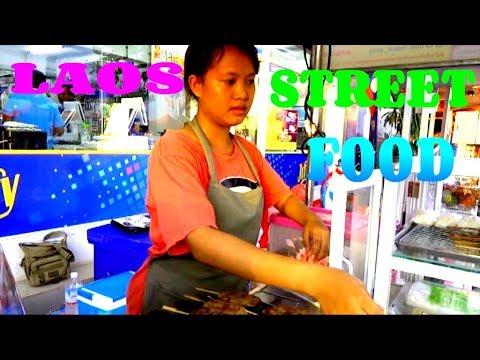 Laos, Laos Travel, Street Food in Laos, Lao Food