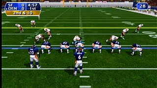NFL 2K Gameplay (Dreamcast)