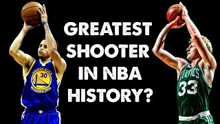 Steph Curry: Greatest Shooter in NBA History?