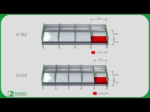 Клетка для несушек - модель D