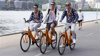 Dutch Beat Rio's Olympic Traffic by Riding Bikes