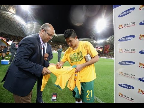 Player of the Match - Massimo Luongo (Match 1)