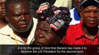 Barack Obama's grandmother celebrates his US election victor