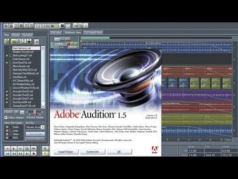 Barashada Adobe Audition 1.5 Muuqaalka 4aad