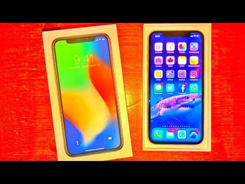 Apple iPhone X UNBOXING (Early Release)