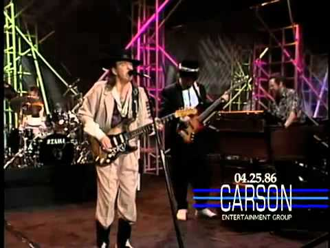 Stevie Ray Vaughan And Double Trouble - Tightrope (Live on The Tonight Show 1990)