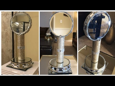 Dollar Tree DIY || Gold Vanity Mirror