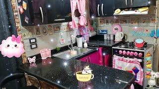 واخيرا جولة في مطبخي الجديد🌸 بعد ماحولته تركي😉لو مطبخك صغير لازم تشوفي الفيديو ده