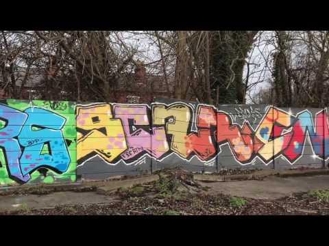 Urbex Masters: Amazing Street Art Site, Derbyshire - January 2017