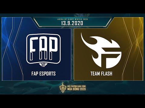 FAP Esports vs Team Flash | FAP vs FL - Vòng 7 ngày 2 [13.09.2020] - ĐTDV mùa Đông 2020