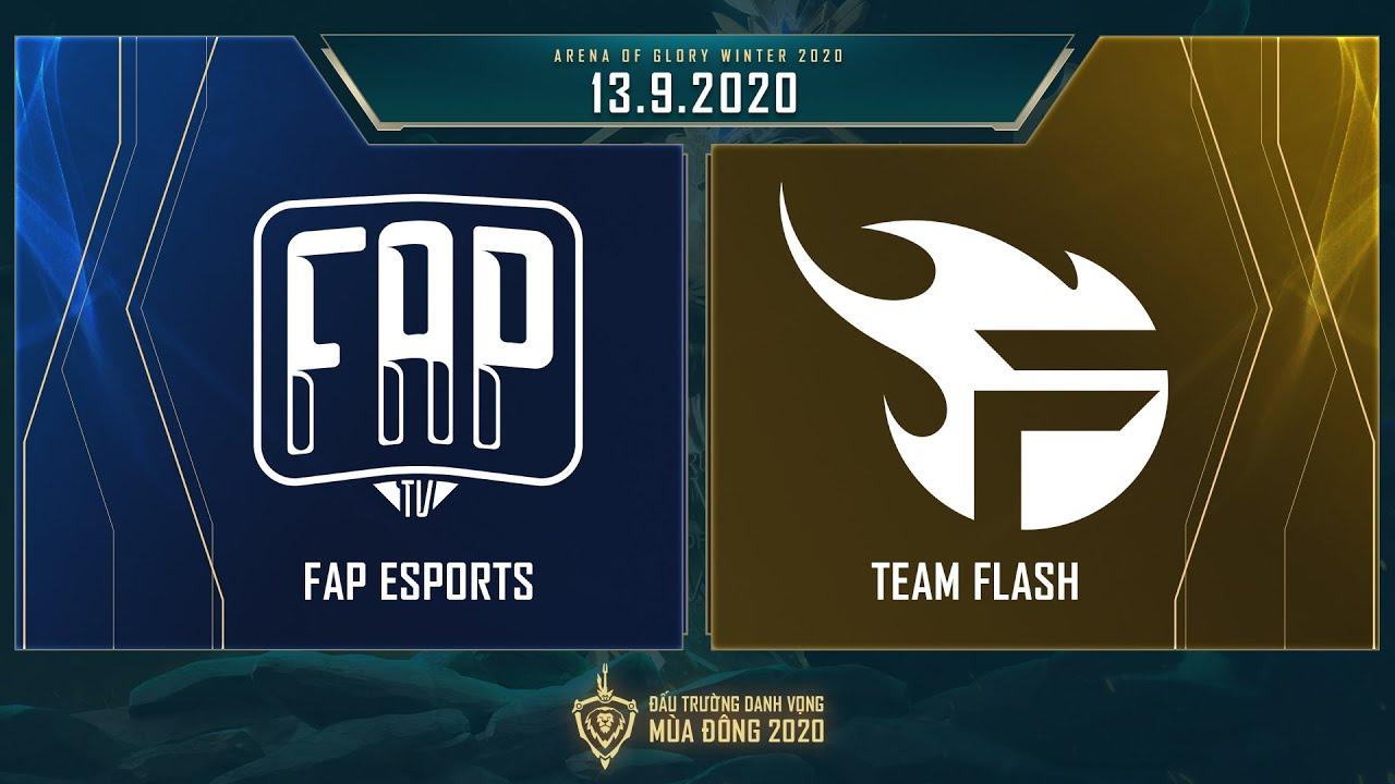 FAP Esports vs Team Flash | FAP vs FL – Vòng 7 ngày 2 [13.09.2020] – ĐTDV mùa Đông 2020
