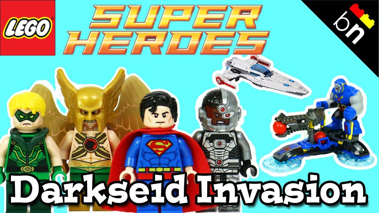 LEGO Darkseid Invasion Review 76028 - YouTube