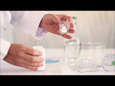 Portable Mesh Nebulizer Cleaning Method