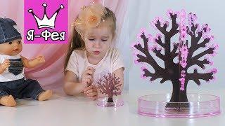 DIY: Смотрите, как из бумаги появляются прекрасные цветы сакуры. Развивающее видео для детей.